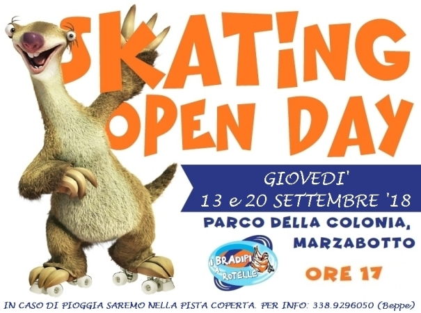 Skating Open Day a Marzabotto